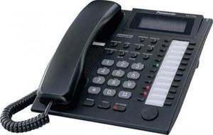 Panasonic KX-T7735X - telefon systemowy hybrydowy czarny - 2880835821