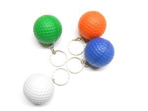 BRELOK DO KLUCZY PIŁECZKA GOLFOWA / KOLORY Brelok piankowy / piłka do golfa / 4 cm / w woreczku - 2880103540