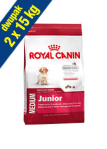 ROYAL CANIN MEDIUM JUNIOR 2x15 kg - 2844529153