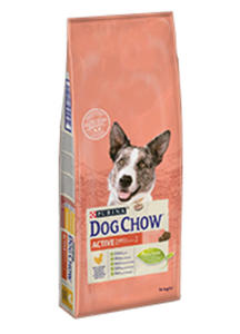 DOG CHOW ADULT ACTIVE 2x14 kg - 2825195983