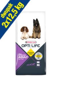 VERSELE-LAGA OPTI LIFE ADULT ACTIVE 2x12,5 kg - 2846798284