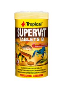 TROPICAL SUPERVIT TABLETS B POKARM DLA RYB 200 tabletek - 2825200542