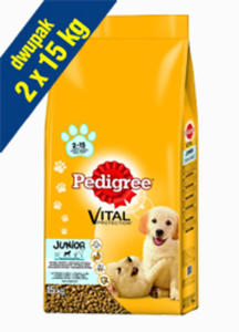 PEDIGREE JUNIOR MEDIUM 2x15 kg - 2844104941