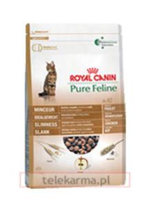 ROYAL CANIN FELINE PURE N.02 SMUKŁA SYLWETKA 3 kg - 2856155203