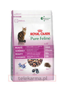 ROYAL CANIN FELINE PURE N.01 PIĘKNA SIERŚĆ 3 kg - 2843397213