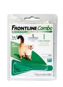 FRONTLINE COMBO KROPLE SPOT ON DLA KOTA 1 pipetka - 2848878839