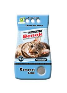 SUPER BENEK COMPACT - ŻWIREK BENTONITOWY DLA KOTA 20kg - 25 l - 2844105115