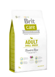 BRIT CARE ADULT SMALL BREED LAMB & RICE 3 kg - 2845439582