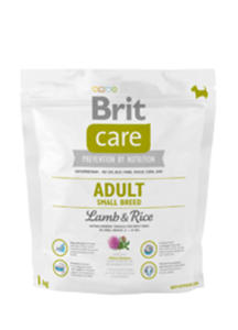 BRIT CARE ADULT SMALL BREED LAMB & RICE 1 kg - 2825197132