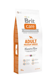 BRIT CARE ADULT MEDIUM BREED LAMB & RICE 12 kg - 2850213851