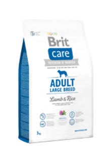 BRIT CARE ADULT LARGE BREED LAMB & RICE 3 kg - 2852427427