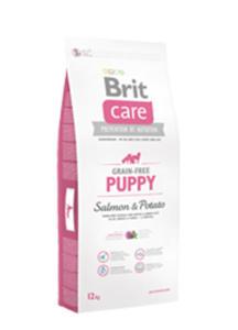BRIT CARE GRAIN FREE PUPPY SALMON & POTATO 12 kg - 2849240409