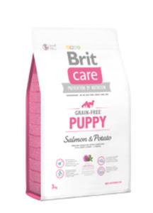 BRIT CARE GRAIN FREE PUPPY SALMON & POTATO 3 kg - 2846235224
