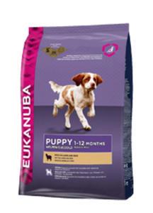 EUKANUBA PUPPY SMALL / MEDIUM LAMB and RICE 2,5 kg - 2861828381