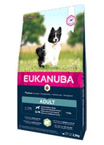 EUKANUBA ADULT SMALL / MEDIUM BREED LAMB and RICE 2,5 kg - 2861828382