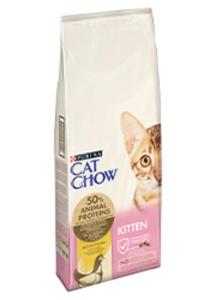 CAT CHOW KITTEN Z KURCZAKIEM 1,5 kg - 2825197986