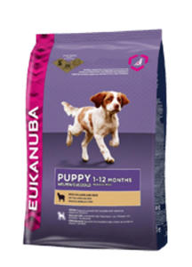 EUKANUBA PUPPY SMALL / MEDIUM LAMB and RICE 1 kg - 2862934705