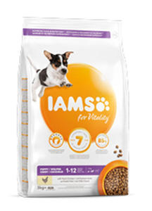 IAMS PROACTIVE HEALTH JUNIOR SMALL / MEDIUM KARMA DLA SZCZENIĄT 3 kg - 2862712702