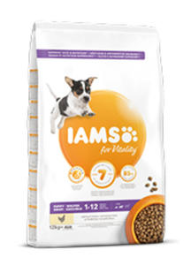 IAMS PROACTIVE HEALTH JUNIOR SMALL / MEDIUM KARMA DLA SZCZENIĄT 12 kg - 2863984651