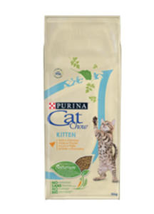 CAT CHOW KITTEN Z KURCZAKIEM 6x1,5 kg - 2844306594
