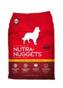 NUTRA NUGGETS ADULT LAMB & RICE 15 kg - 2848032793