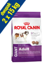 ROYAL CANIN GIANT ADULT 2x15 kg - 2858402393