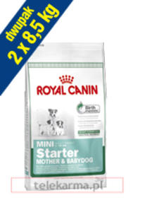 ROYAL CANIN MINI STARTER MOTHER&BABYDOG 2x8,5 kg - 2858402401