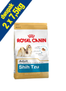 ROYAL CANIN BREED SHIH TZU 24 2x7,5 kg - 2845439606