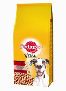 PEDIGREE ADULT LARGE WOŁOWINA 15 kg - 2844104901