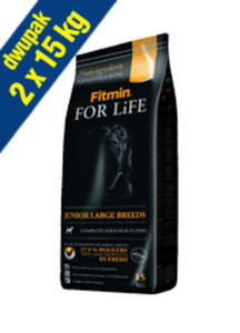 FITMIN DOG FOR LIFE JUNIOR LARGE BREED 2x15 kg - 2845624872