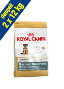 ROYAL CANIN BREED GERMAN SHEPHERD JUNIOR 2x12 kg - 2846798267