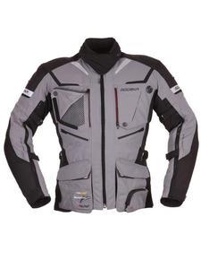 Męska kurtka tekstylna Modeka Panamericana - szary/czarny - 2858363349