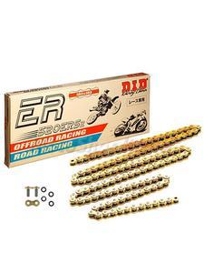 KTM LC2 125/ EXC 125/ SX 250/ SX-F 250/ XCW-F 250 zestaw napędowy DID520 ERS2 G&G EXCLUSIVE RACING (łańcuch super wzmocniony, bezoringowy, gold&gold) zębatki SUNSTAR - DID520 ERS2 G&G - 2832668340