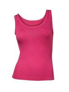 Koszulka damska wąskie ramiączka Aerate BRUBECK - AMARANTOWY - 2858362833