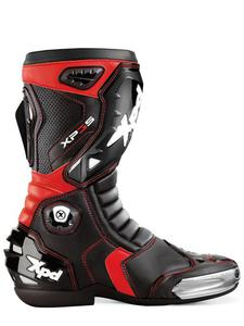 Buty motocyklowe sportowe XPD XP3-S - black-red - 2832669182