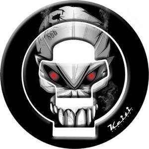 FUEL CAP KEITI SKULL BLACK 2002> - 2832663048