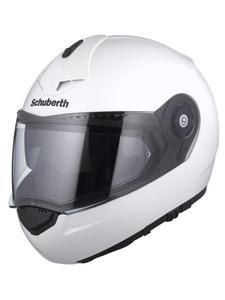 Kask szczękowy Schuberth C3 Pro - White - 2832669737