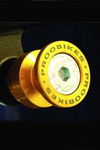 Rolki Proobikes BOB do podnośnika - 8 mm - gold - 2832663611