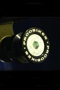 Rolki Proobikes BOB do podnośnika - 8 mm - czarny/pomarańczowy - 2832663613