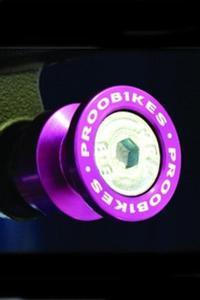 Rolki Proobikes BOB do podnośnika - 8 mm - violet - 2832663615