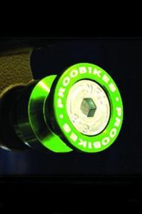 Rolki Proobikes BOB do podnośnika -10 mm - green - 2832663618