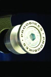 Rolki Proobikes BOB do podnośnika -10 mm - alluminium - 2832663619