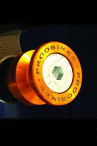 Rolki Proobikes BOB do podnośnika -10 mm - Orange - 2832663625
