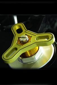 Regulatory sprężyn widełek Proobikes PBVR07 - Yellow - 2832663683