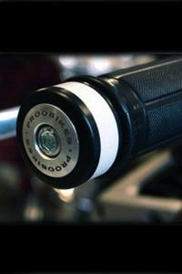 Refleksyjne odważniki kierownicy Proobikes BOZ RACING - aluminium - 2832663717