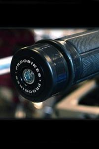 Refleksyjne odważniki kierownicy Proobikes BOZ RACING - black - 2832663718