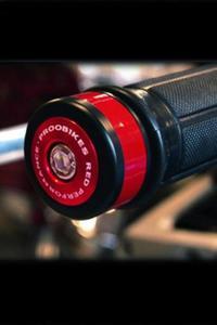 Refleksyjne odważniki kierownicy Proobikes BOZ RACING - red - 2832663721