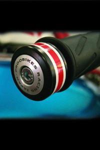 Refleksyjne odważniki kierownicy Proobikes BOZ RACING - Japan - 2832663727