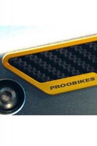 Karbonowe ochraniacze boczne PROOBIKES BSL - gold - 2832663783