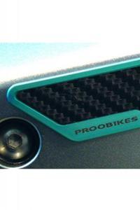 Karbonowe ochraniacze boczne PROOBIKES BSL - azure - 2832663789